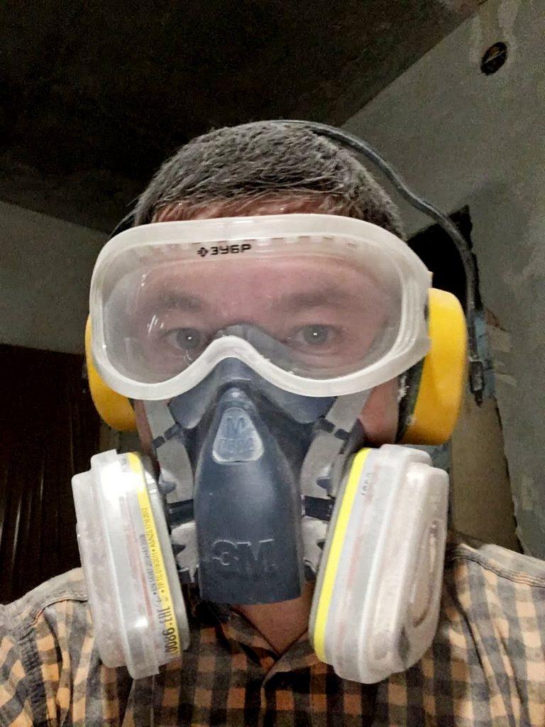 """Мастер: """"Врач запретил работать на стройке"""" или """"7 болезней, которые может вызвать строительная пыль"""" + #Мои средства защиты"""