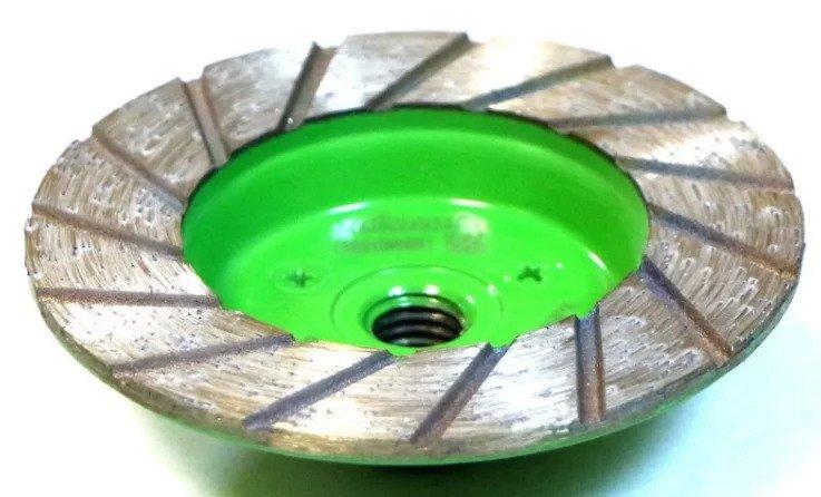 Чашка для шлифовки плитки, бывают разной зернистости