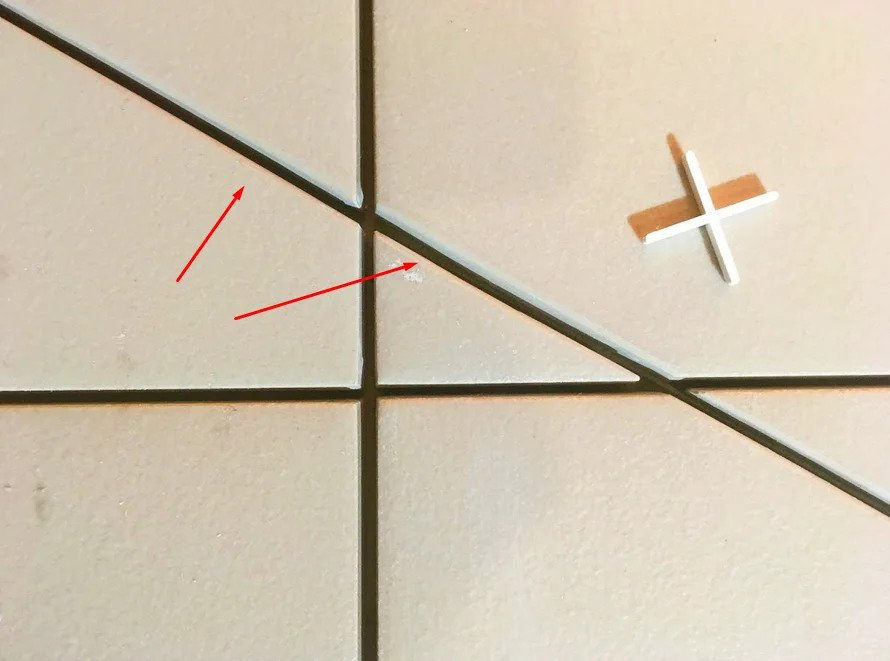 Снятие фаски на плитке