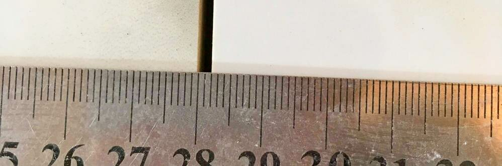 Минимум 1,5 мм