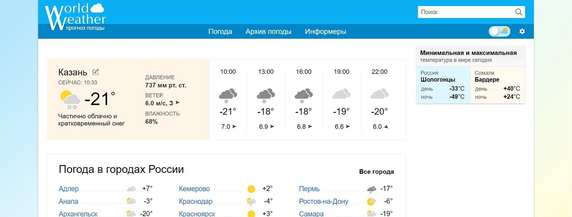 сайт прогноза погоды word-weather.ru