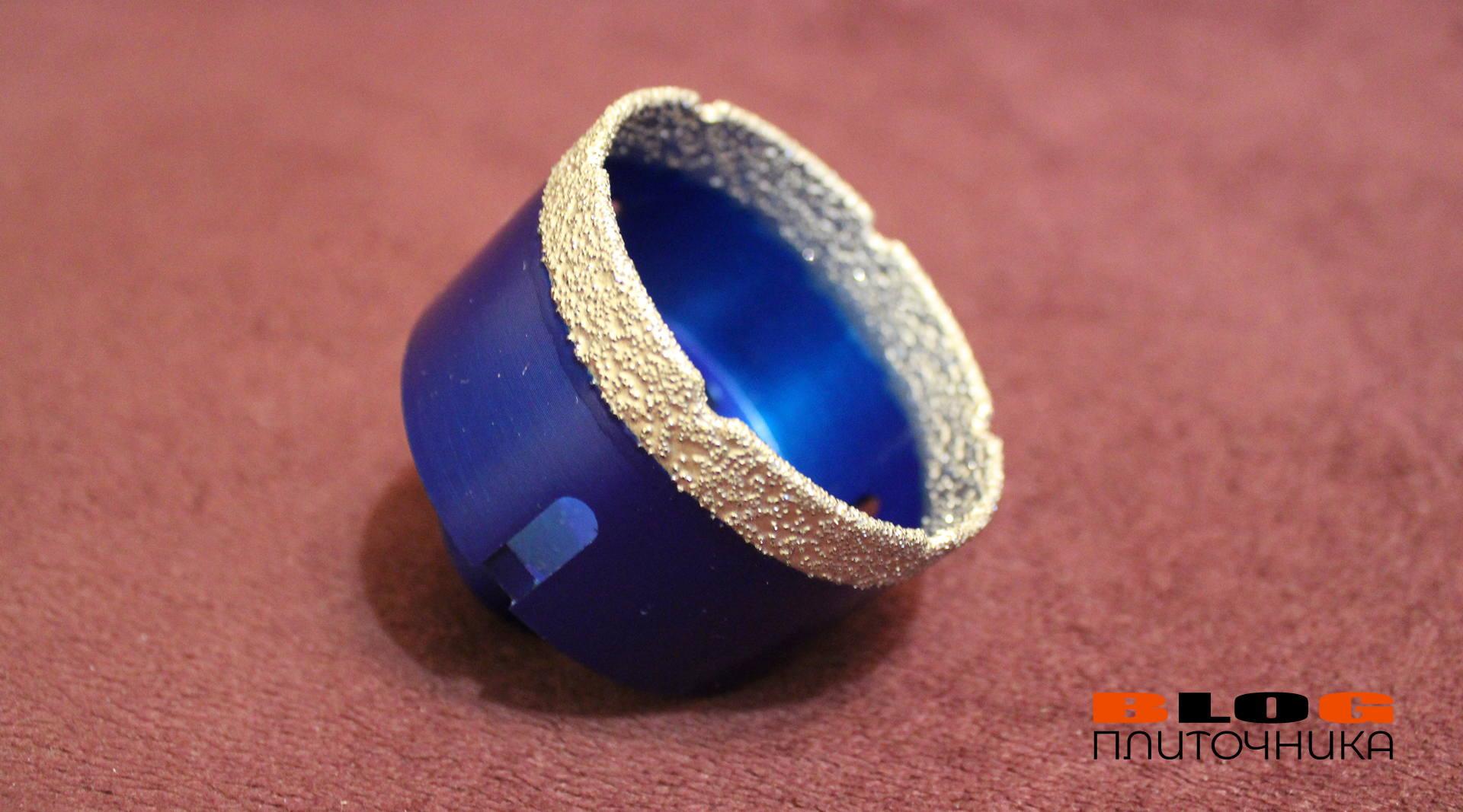 алмазная коронка для сверления отверстий в керамограните